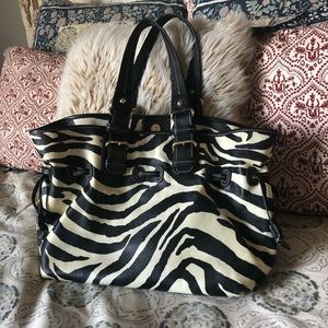 Dooney and Bourke zebra stripe bag